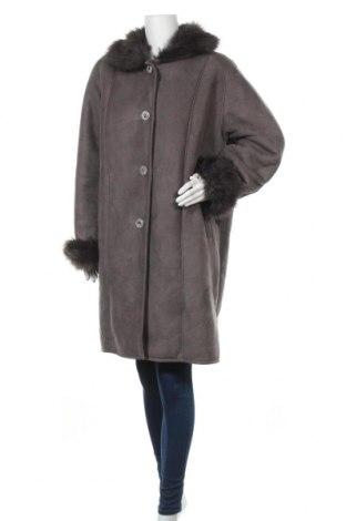 Дамско палто, Размер XL, Цвят Сив, Цена 43,68лв.