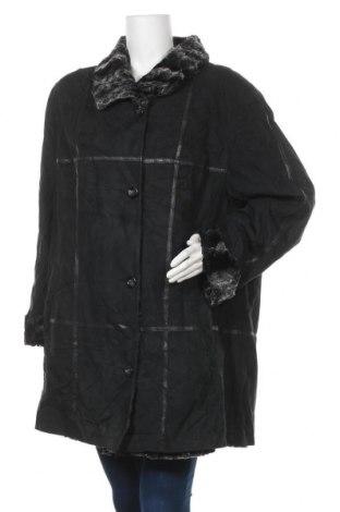 Дамско палто, Размер XL, Цвят Черен, Полиамид, полиуретан, вискоза, памук, модал, Цена 16,54лв.