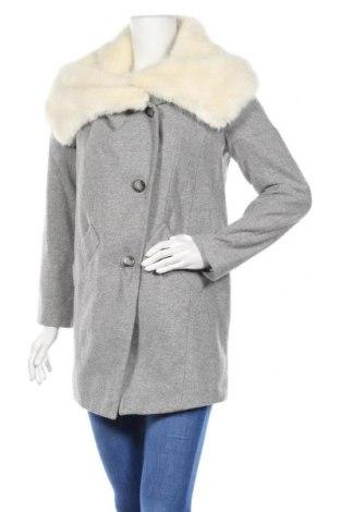 Дамско палто ASOS, Размер S, Цвят Сив, Цена 31,32лв.