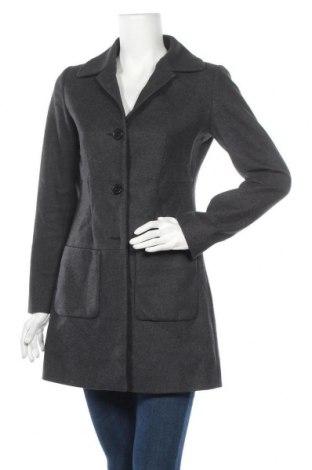 Γυναικείο παλτό Adele Fado, Μέγεθος M, Χρώμα Γκρί, 80% μαλλί, 20% πολυεστέρας, Τιμή 25,43€