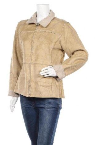 Дамско палто Aeropostale, Размер L, Цвят Бежов, Полиестер, Цена 9,90лв.