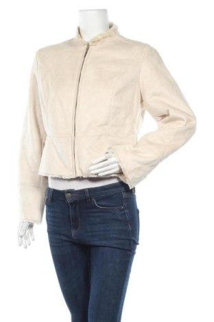 Дамско палто Alfani, Размер M, Цвят Бежов, Полиестер, Цена 18,06лв.