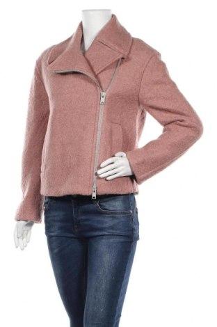 Γυναικείο παλτό AllSaints, Μέγεθος XS, Χρώμα Ρόζ , 51% μαλλί, 49% πολυεστέρας, Τιμή 60,47€