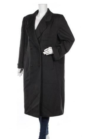 Дамско палто Alorna, Размер L, Цвят Зелен, 75% вълна, 25% полиамид, Цена 23,52лв.