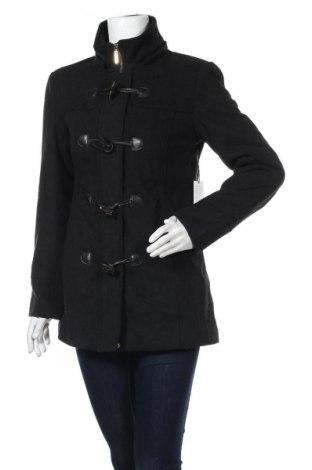 Дамско палто Alpine Swiss, Размер S, Цвят Черен, 70% полиестер, 30% вълна, Цена 43,05лв.