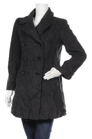 Дамско палто Anne Klein, Размер L, Цвят Сив, Цена 46,78лв.