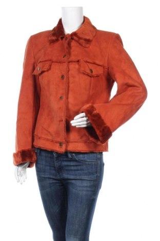 Γυναικείο παλτό Apart, Μέγεθος XL, Χρώμα Πορτοκαλί, 70%ακρυλικό, 30% πολυεστέρας, Τιμή 48,63€