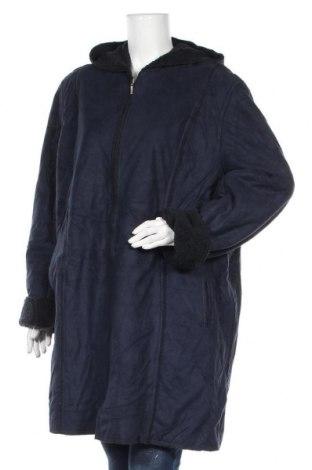 Γυναικείο παλτό Apropos, Μέγεθος XXL, Χρώμα Μπλέ, Πολυεστέρας, Τιμή 32,73€