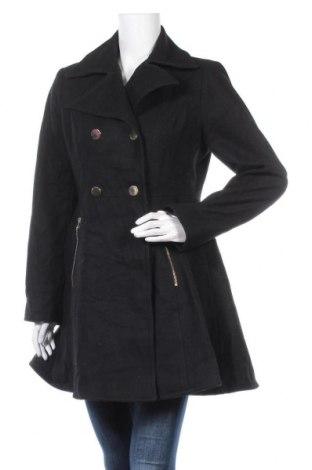 Дамско палто Apt.9, Размер M, Цвят Черен, 60% вълна, 31% полиестер, 9% други материали, Цена 33,50лв.