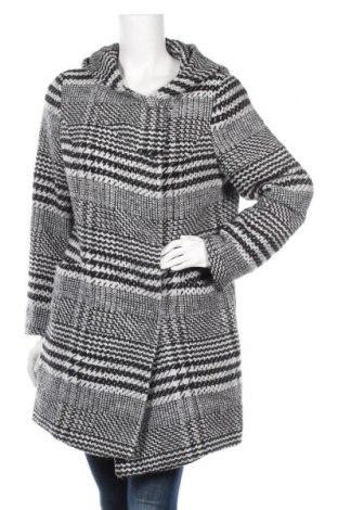 Γυναικείο παλτό Ariston, Μέγεθος L, Χρώμα Γκρί, 85% πολυεστέρας, 15% μαλλί, Τιμή 22,34€