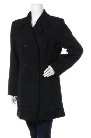 Дамско палто Arizona Jean Co, Размер XL, Цвят Черен, Вълна, Цена 33,60лв.