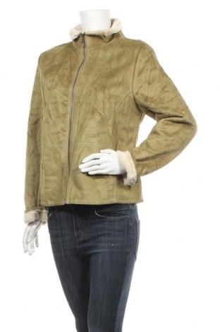 Γυναικείο παλτό B.u.m. Equipment, Μέγεθος M, Χρώμα Πράσινο, Βισκόζη, Τιμή 30,23€