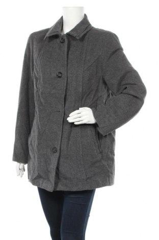 Дамско палто Barbara Lebek, Размер L, Цвят Сив, Цена 24,89лв.