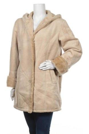 Дамско палто Barisal, Размер L, Цвят Бежов, Полиестер, Цена 25,52лв.