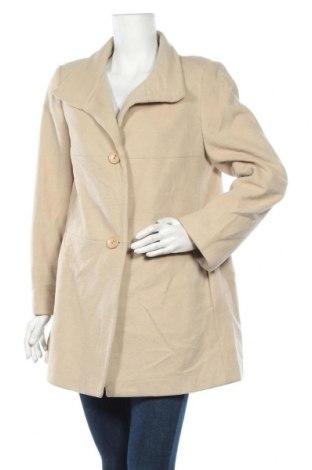 Дамско палто Basler, Размер M, Цвят Бежов, 80% вълна, 20% кашмир, Цена 130,20лв.