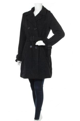 Дамско палто Biaggini, Размер L, Цвят Черен, 85% полиестер, 13% вискоза, 2% еластан, Цена 55,86лв.
