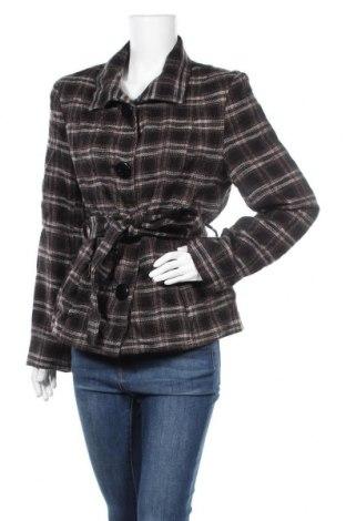 Дамско палто Biaggini, Размер L, Цвят Многоцветен, 90% полиакрил, 10% вълна, Цена 14,74лв.