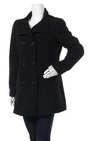 Дамско палто Blue Motion, Размер L, Цвят Черен, 55% вълна, 45% полиестер, Цена 31,19лв.