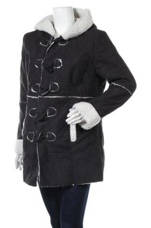 Дамско палто Bpc Bonprix Collection, Размер XL, Цвят Черен, 100% полиестер, Цена 38,96лв.