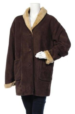 Дамско палто Canda, Размер L, Цвят Кафяв, Полиестер, Цена 17,85лв.