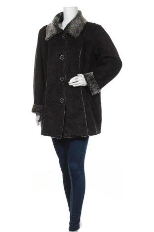 Дамско палто Canda, Размер XL, Цвят Черен, 80% акрил, 20% полиестер, Цена 35,28лв.