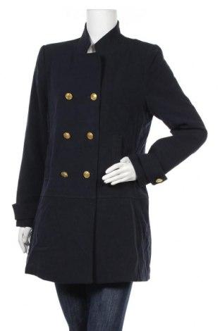 Дамско палто Capture, Размер L, Цвят Син, 64% полиестер, 33% вискоза, 3% еластан, Цена 35,18лв.