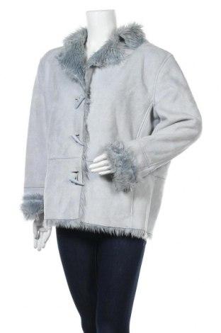 Дамско палто Cecilia Classics, Размер L, Цвят Син, Полиестер, Цена 12,60лв.