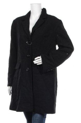 Дамско палто Cecilia Classics, Размер XL, Цвят Черен, 53% вълна, 47% полиестер, Цена 41,16лв.