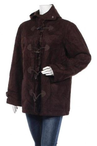 Дамско палто Chaps, Размер XL, Цвят Кафяв, 70% акрил, 30% полиестер, Цена 19,85лв.