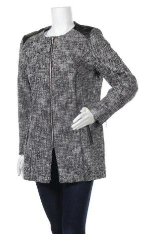 Дамско палто Charles Vogele, Размер L, Цвят Сив, 85% памук, 14% полиестер, 1% еластан, Цена 25,41лв.