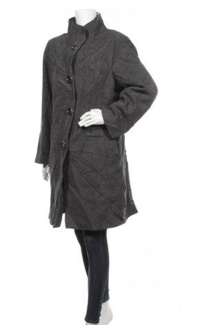 Дамско палто Cleo, Размер M, Цвят Сив, 60% вълна, 30% полиамид, 10% полиестер, Цена 32,60лв.