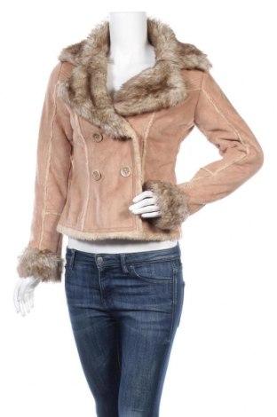 Дамско палто Clockhouse, Размер S, Цвят Бежов, 55% акрил, 45% полиестер, Цена 23,15лв.