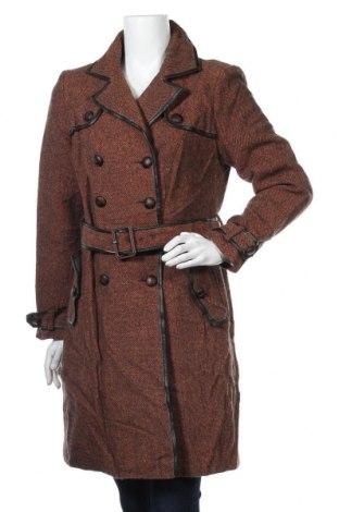Дамско палто Comma,, Размер M, Цвят Оранжев, 80% вълна, 20% полиакрил, Цена 55,44лв.