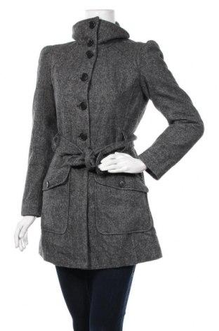 Γυναικείο παλτό Converse, Μέγεθος S, Χρώμα Γκρί, 71% πολυεστέρας, 14%ακρυλικό, 11% μαλλί, 4% άλλα υλικά, Τιμή 19,87€