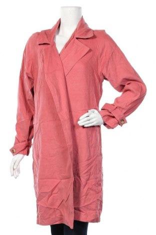Дамско палто Cotton On, Размер M, Цвят Розов, 90% полиестер, 10% полиамид, Цена 11,03лв.