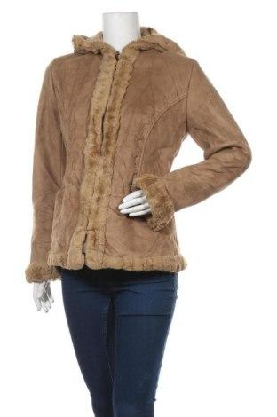 Дамско палто Croft & Barrow, Размер S, Цвят Бежов, Полиестер, Цена 19,11лв.