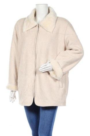Дамско палто Denim&Co., Размер L, Цвят Бял, Полиестер, Цена 11,03лв.