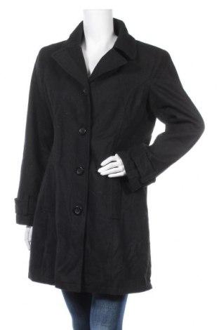Дамско палто Designer S, Размер L, Цвят Черен, 55% вълна, 45% полиестер, Цена 21,42лв.