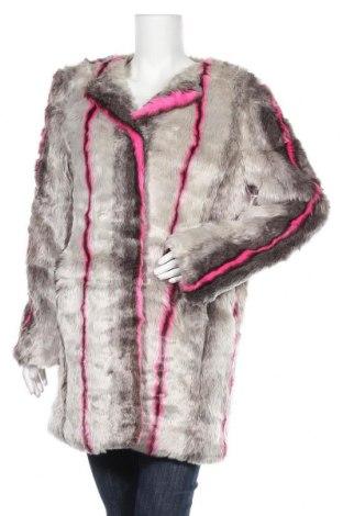 Дамско палто Doca, Размер L, Цвят Сив, Акрил, Цена 45,62лв.