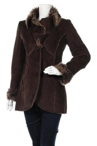 Γυναικείο παλτό Dorothy Perkins, Μέγεθος S, Χρώμα Καφέ, Πολυεστέρας, Τιμή 28,39€