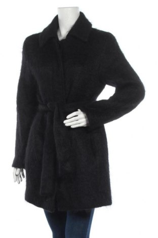 Дамско палто Drykorn for beautiful people, Размер M, Цвят Черен, 64% мохер, 31% вълна, 5% полиамид, Цена 117,34лв.
