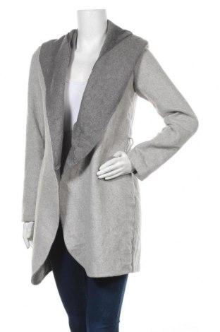 Γυναικείο παλτό Dynamite, Μέγεθος S, Χρώμα Γκρί, 70% πολυεστέρας, 20% μαλλί, 10% άλλα υλικά, Τιμή 23,31€