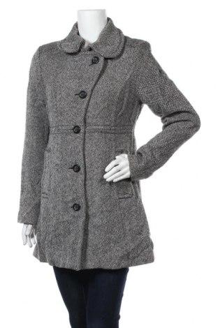 Дамско палто Edc By Esprit, Размер L, Цвят Сив, 60% вълна, 35% вискоза, 5% полиестер, Цена 32,76лв.