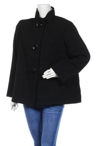 Дамско палто Elena Miro, Размер XL, Цвят Черен, 90% вълна, 10% полиамид, Цена 69,96лв.