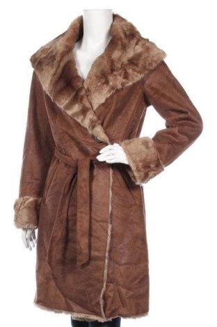 Дамско палто Esprit, Размер M, Цвят Кафяв, 84% акрил, 16% полиестер, Цена 47,30лв.