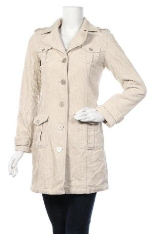 Дамско палто Etam, Размер S, Цвят Бежов, Цена 17,22лв.