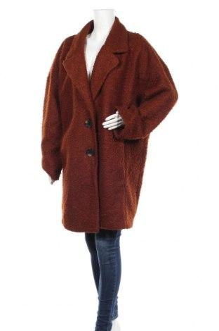 Дамско палто F&F, Размер 3XL, Цвят Кафяв, 100% полиестер, Цена 68,83лв.