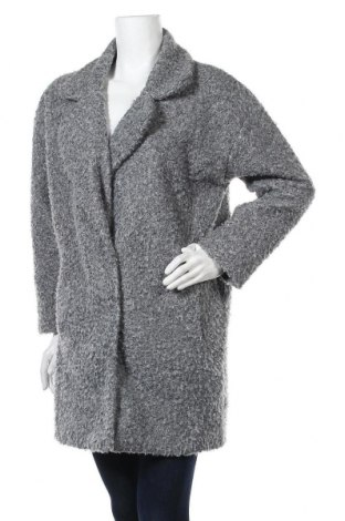 Дамско палто F&F, Размер S, Цвят Сив, Полиестер, Цена 45,89лв.