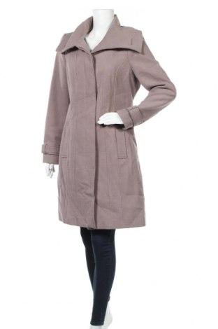 Дамско палто F&F, Размер XL, Цвят Пепел от рози, 89% полиестер, 10% вискоза, 1% еластан, Цена 53,87лв.