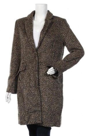 Дамско палто F&F, Размер L, Цвят Многоцветен, 53% полиестер, 41% акрил, 2% вълна, 2% вискоза, 2% полиамид, Цена 61,85лв.